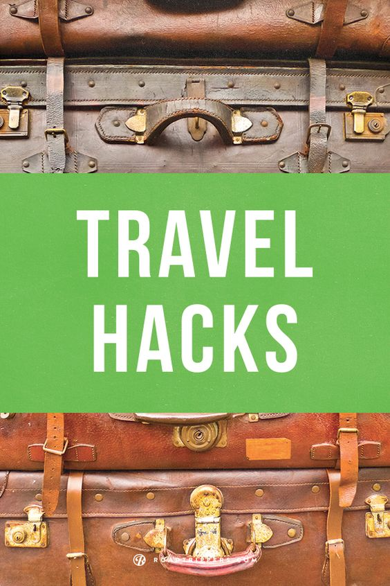 The 5 Best Travel Hacks You Should Know