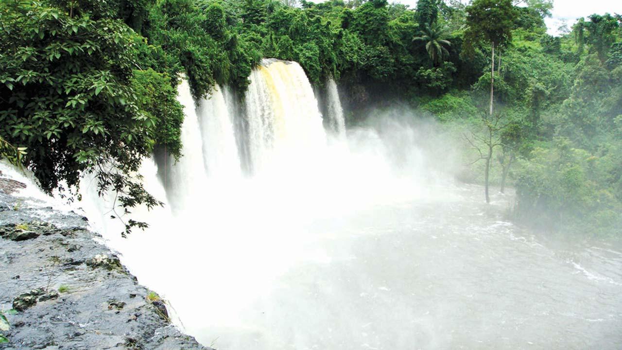 agbokim waterfalls in nigeria