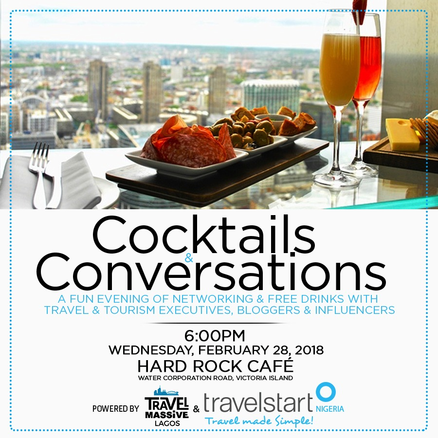 "Travel Massive Presents ""Cocktails & Conversations"" with Travelstart Nigeria"